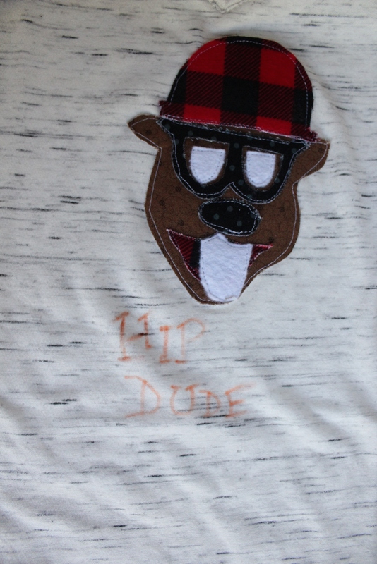 """Hip""ster Beaver Applique Pattern | www.nap-timecreations.com"