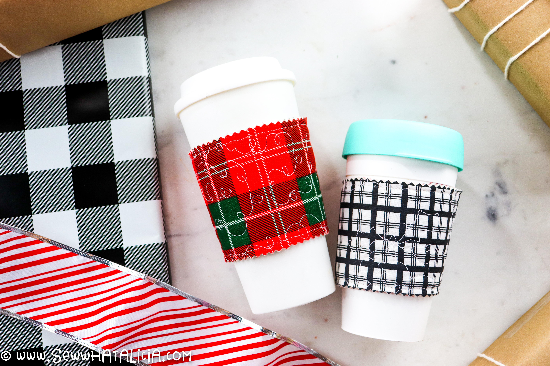 Diy Coffee Cup Sleeve Tutorial Sew